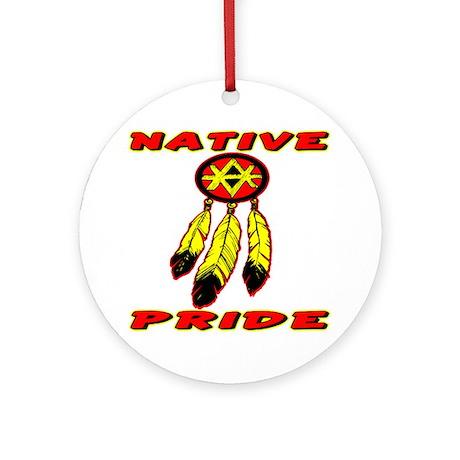 Native Pride #0033 Ornament (Round)