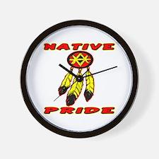 Native Pride #0033 Wall Clock