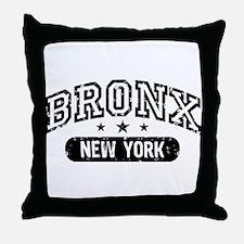 Bronx New York Throw Pillow