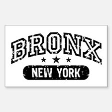 Bronx New York Rectangle Decal