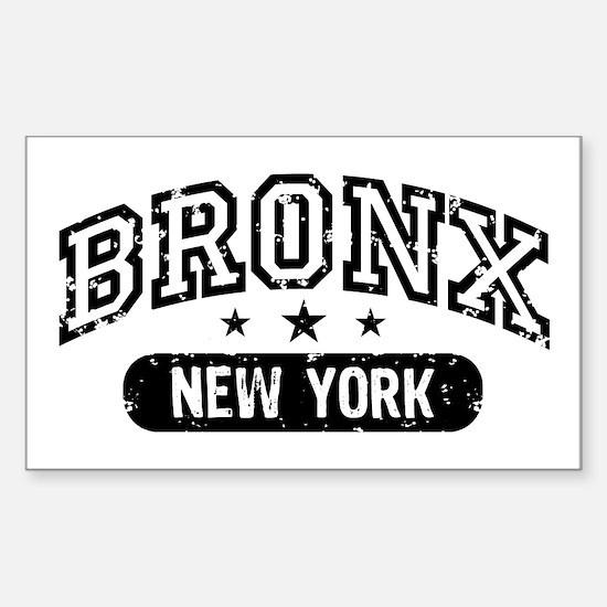 Bronx New York Rectangle Decal