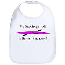 My Grandpa's Roll Is Better Than Yours Bib