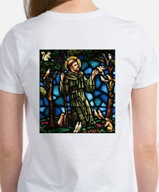 St Francis of Assisi Women's T-Shirt
