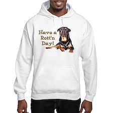 Rottweiler Rott'n Day Hoodie