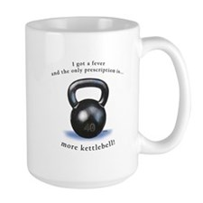 Prescription for Kettlebell Ceramic Mugs