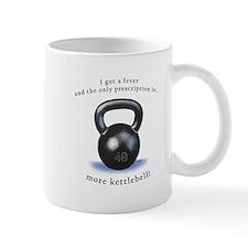 Prescription for Kettlebell Small Mugs
