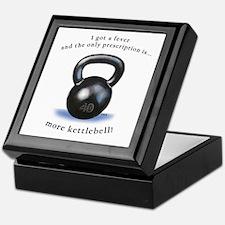 Prescription for Kettlebell Keepsake Box
