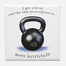 Prescription for Kettlebell Tile Coaster