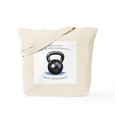 Prescription for Kettlebell Tote Bag