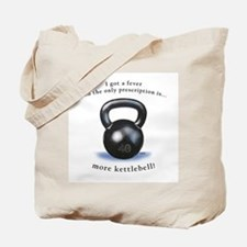 Prescription for Kettlebell Tote Bag