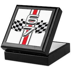 67 Racer Red Keepsake Box
