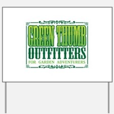 Green Thumb Outfitters Yard Sign