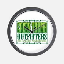 Green Thumb Outfitters Wall Clock