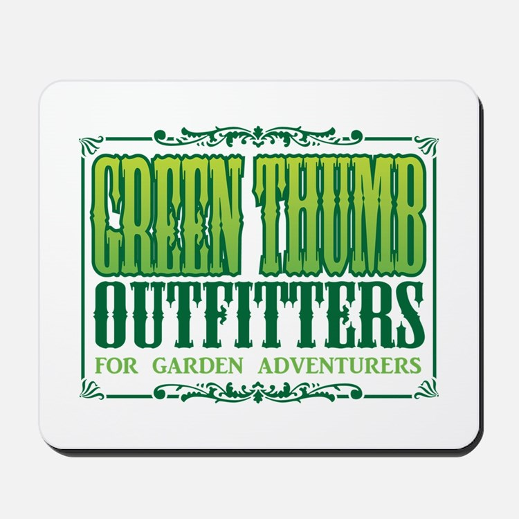 Green Thumb Outfitters Mousepad