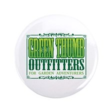 """Green Thumb Outfitters 3.5"""" Button"""