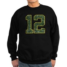 12 Aaron Rodgers Packer Marbl Sweatshirt