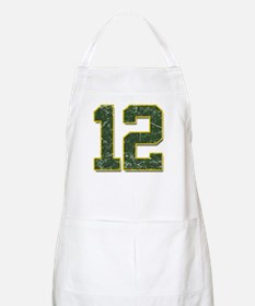 12 Aaron Rodgers Packer Marbl Apron