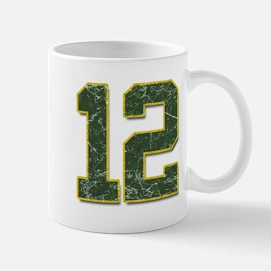 12 Aaron Rodgers Packer Marbl Mug