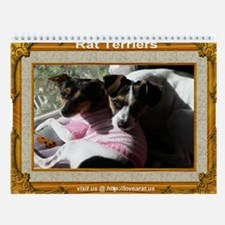 Rat Terrier Calendar