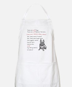 THEY are not Pugs (Smiling Frenchie) Apron