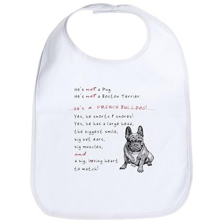 HE'S not a Pug! (Serious) Bib