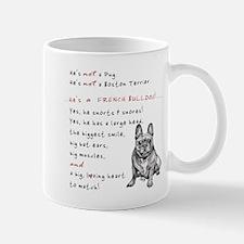HE'S not a Pug! (Smiling) Mug