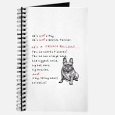 HE'S not a Pug! (Smiling) Journal