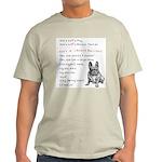 SHE'S not a Pug! (Serious) Light T-Shirt