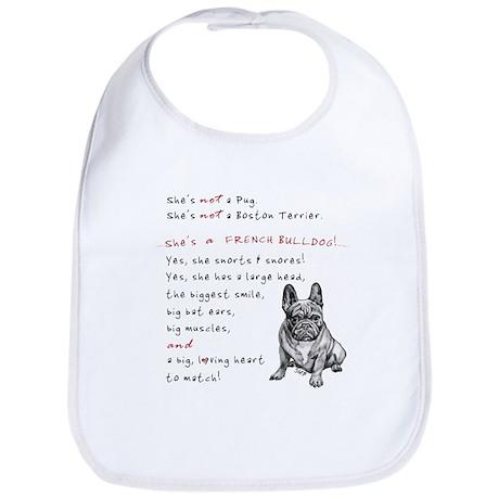 SHE'S not a Pug! (Serious) Bib