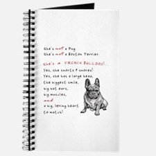 SHE'S not a Pug! (Serious) Journal