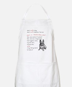SHE'S not a Pug! (Serious) Apron