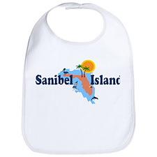 Sanibel Island FL - Map Design Bib