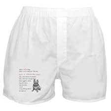 SHE'S not a Pug! (Smiling) Boxer Shorts