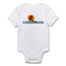 Sanibel Island FL - Sunbathing Design Infant Bodys