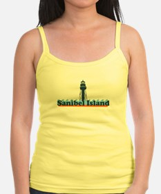 Sanibel Island FL - Lighthouse Design Jr.Spaghetti Strap