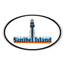 Sanibel Island FL - Lighthouse Design Decal