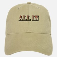 All In Baseball Baseball Cap