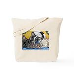 Frenchies & Mini Nativity Tote Bag
