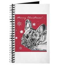 Frenchie Christmas Journal