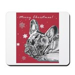 Frenchie Christmas Mousepad