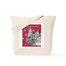 Frenchie Christmas Tote Bag