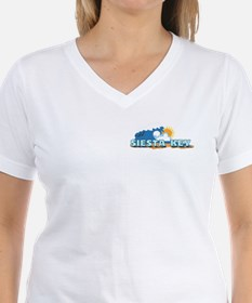 Siesta Key FL - Waves Design Shirt
