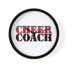 Cheer Coach Wall Clock