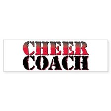 Cheer Coach Car Sticker