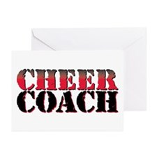 Cheer Coach Greeting Cards (Pk of 20)