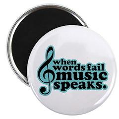 Popular Music Speaks Magnet