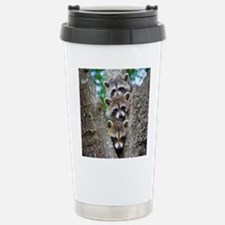 Baby Raccoon Trio Travel Mug