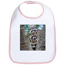 Baby Raccoon Trio Bib