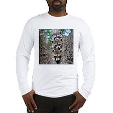 Baby Raccoon Trio Long Sleeve T-Shirt