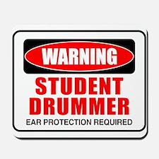 Student Drummer Mousepad